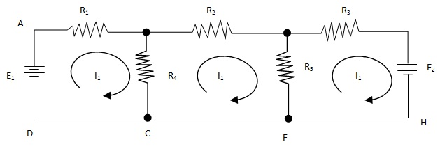 Maxwell Loop Current Method