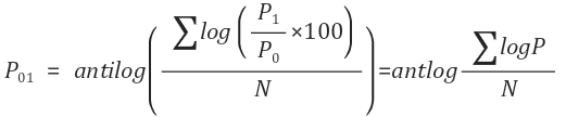 Simple Average of Price Relative2