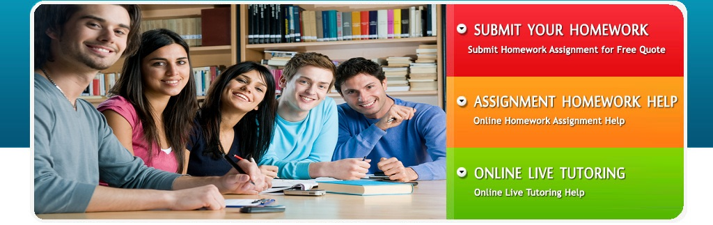 Online Assignment Help, Homework Help Services, Help For